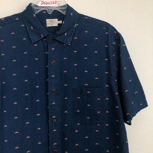 Faherty Short Sleeve Button Down Coast Shirt
